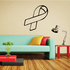 Ribbon Outline Decal