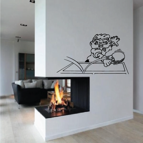 Ping pong Wall Decal - Vinyl Decal - Car Decal - Bl004