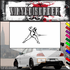 Fencing Wall Decal - Vinyl Decal - Car Decal - SM001