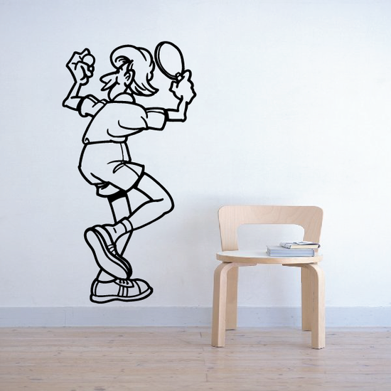 Ping pong Wall Decal - Vinyl Decal - Car Decal - Bl005