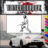 Fencing Wall Decal - Vinyl Decal - Car Decal - SM003