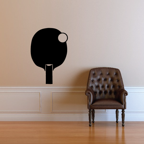 Ping pong Wall Decal - Vinyl Decal - Car Decal - Bl008