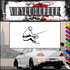 Fencing Wall Decal - Vinyl Decal - Car Decal - SM008