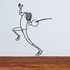 Fencing Wall Decal - Vinyl Decal - Car Decal - Bl003