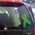 Traumatic Brain Injury Awareness Ribbon Vinyl Sticker
