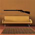 Lever Action Rifle Decal