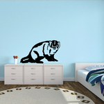 Staring Badger Decal