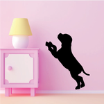 Begging Puppy Dog Decal