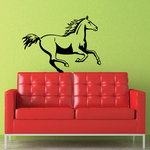 Elegant Running Horse Decal