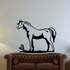 Horse and Cactus Decal