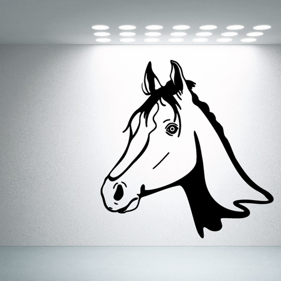 Noble Horse Head Decal