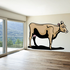 Cow with Udders Standing Sticker