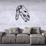 Native American Wall Decal - Vinyl Decal - Car Decal - DC6145