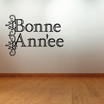 Happy New Year French Bonne Ann'ee Decal