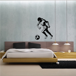 Soccer Wall Decal - Vinyl Decal - Car Decal - 089