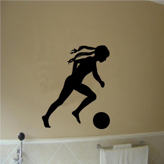 Soccer Wall Decal - Vinyl Decal - Car Decal - 094