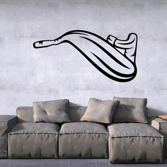 2 Stroke Motorcycle Exhaust Decal