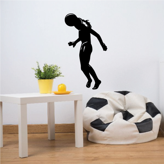 Soccer Wall Decal - Vinyl Decal - Car Decal - 107
