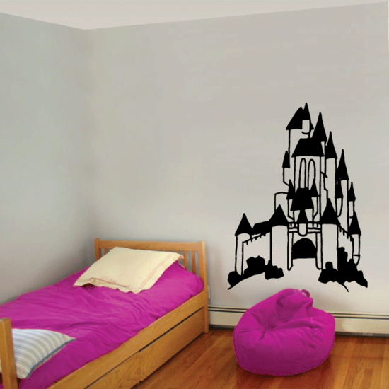 Inviting Castle Decal