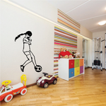 Soccer Wall Decal - Vinyl Decal - Car Decal - 111