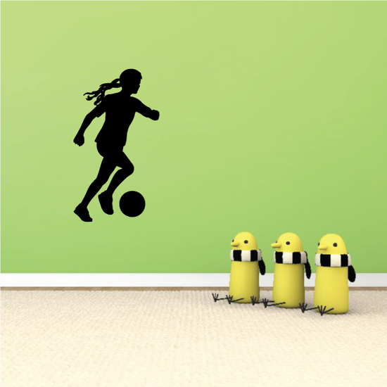 Soccer Wall Decal - Vinyl Decal - Car Decal - 118