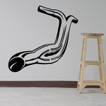 Chopper Motorcycle Exhaust Decal