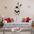 Skill Mohawk Feathers Wall Decal - Vinyl Decal - Car Decal - DC6106