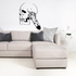 Skull Feathers Wall Decal - Vinyl Decal - Car Decal - DC6110