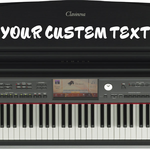 Customize your Keyboard with Any custom text in Any Font!