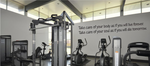 Home Gym Quote Decals