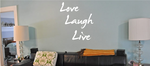 Love & Laughter Decals