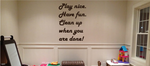 Playroom Quote Decals