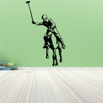 Detailed Polo Rider Decal