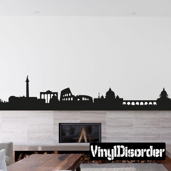 Anchient Rome Skyline Decal