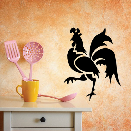 Farm Rooster Decal