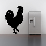 Feathery Rooster Decal