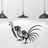 Rooster and Bug Decal