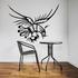Bird Catching Rooster Decal