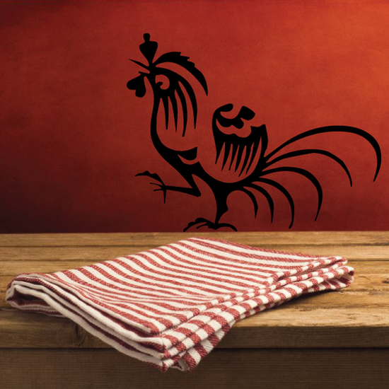Chinese Rooster Decal