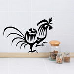 Asian Rooster Decal