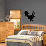 Strutting Rooster Decal