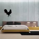 Strutting Rooster Silhouette Decal