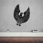 Great Textured Eagle Decal