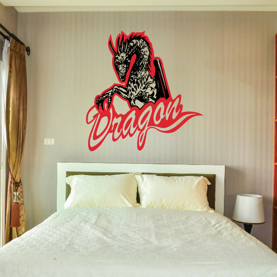 Clawed Dragons Decal