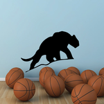 Saber Tooth Tiger Silhouette Decal