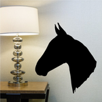 Saddle Bred Horse Head Decal