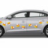 Candy Corn Magnet Kit