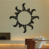 Sun Tribal Wall Decal - Vinyl Decal - Car Decal - MC36