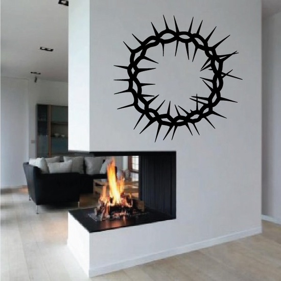 Barbed Wire Tribal Wall Decal - Vinyl Decal - Car Decal - MC39