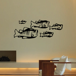 Tribal Fish Wall Decal - Vinyl Decal - Car Decal - DC044